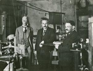 Zeeman met Einstein en Ehrenfest